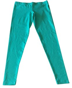 David Lerner teal green Leggings