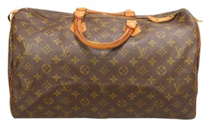 Louis Vuitton Ebene Azur 25 30 35 Tote in Brown Monogram