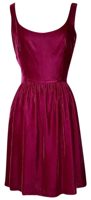 Preload https://img-static.tradesy.com/item/20979743/raspberry-vintage-1980s-mid-length-cocktail-dress-size-6-s-0-1-650-650.jpg