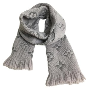Louis Vuitton LOUIS VUITTON LOGOMANIA KNIT SCARF