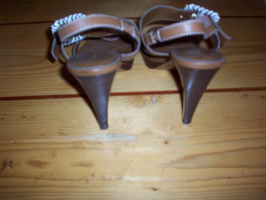 Ralph Lauren Rich Camel Sandals