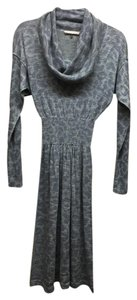 Grey/ Purple Maxi Dress by Rebecca Taylor