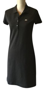 Lacoste short dress black on Tradesy