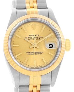 Rolex Rolex Datejust Steel Yellow Gold Jubilee Bracelet Ladies Watch 69173
