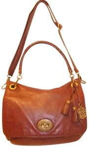 Coach Refurbished Leather Convertible Cross Body Bag