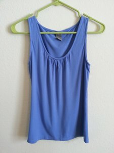 Ann Taylor Sleeveless Top Blue