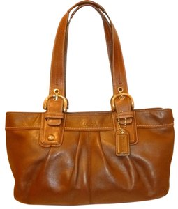 Coach Refurbished Leather X-lg Hobo-tote Tote in Brown