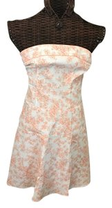 Teeze Me short dress Orange/peach on Tradesy