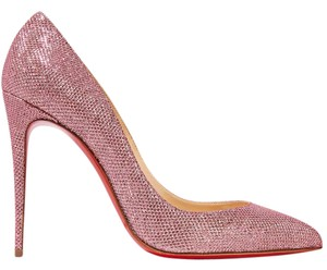 Christian Louboutin Pigalle Follies Glittered Canvas 100mm 4