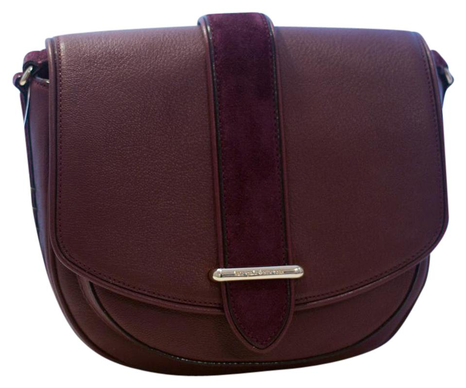 be5ee2fcbf1c Kate Spade Marsi Hunts Place Burgundy Leather Cross Body Bag - Tradesy