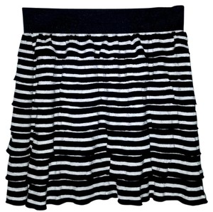 Charlotte Russe Mini Skirt Black & White