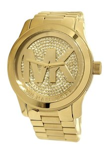 Michael Kors NWT Runway Gold-Tone Watch MK5706
