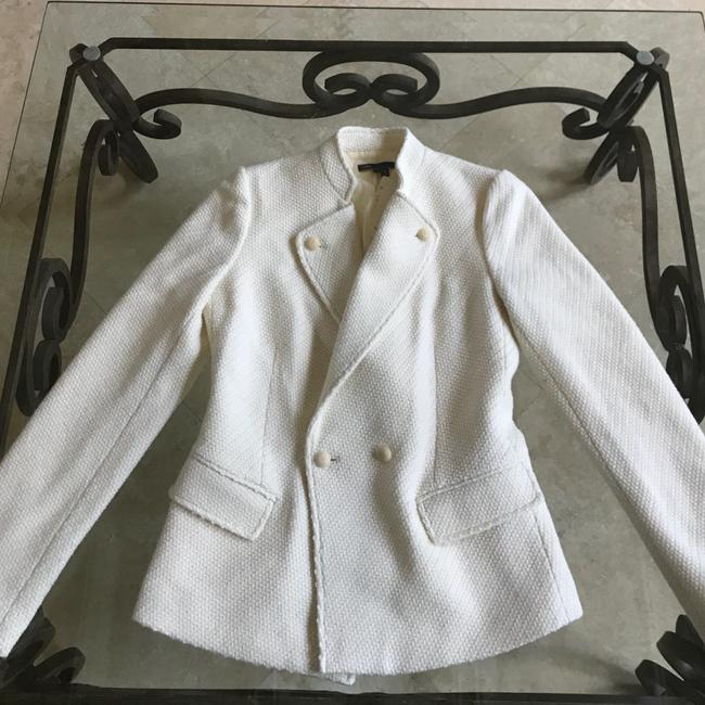 Vince Tweed All Season off white Jacket Image 1
