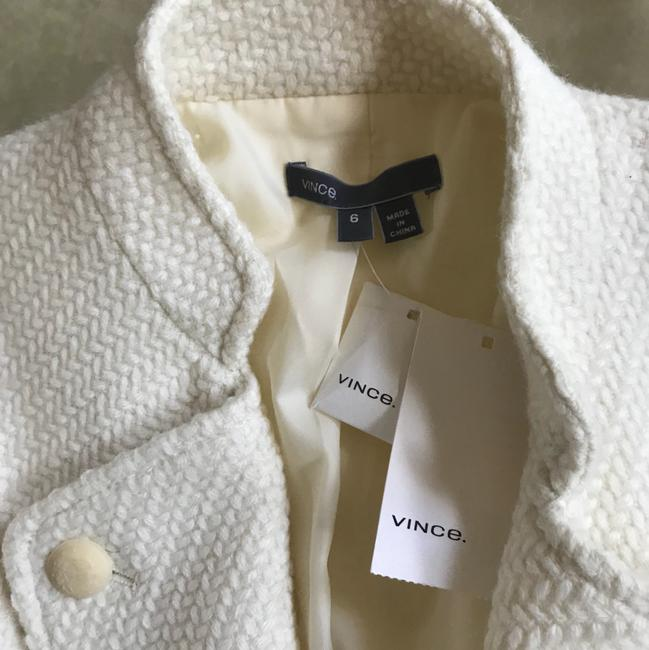 Vince Tweed All Season off white Jacket Image 6