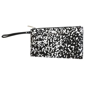 Michael Kors black & white Clutch