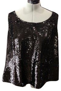 Lafayette 148 New York Top black Sequin