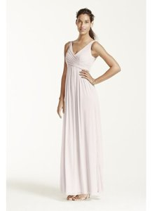 David's Bridal Plum F15933 Dress
