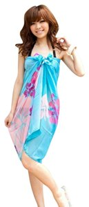 Other FREE SHIPPING New's Blue Flower Sarong Item No. : LC40355