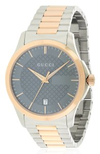 Gucci Gucci G-Timeles Two-Tone Stainless Steel Unisex Watch YA126446