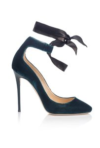 Jimmy Choo DARK TEAL/BLACK Pumps