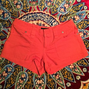 Wet Seal Mini/Short Shorts Orange