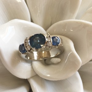 Sapphire and Diamond Ring Sapphire and Diamond Ring