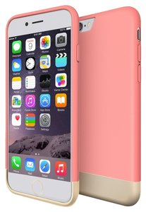 Maxboost Maxboost Light Pink / Gold Iphone 6 PLUS case