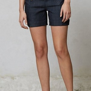 Level 99 Mini/Short Shorts dark blue denim