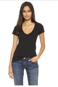 James Perse James T Shirt Black