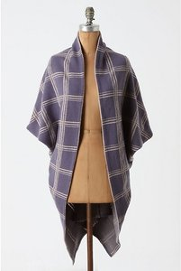Anthropologie Anthro Moth Sweater Wrap Wool Cape