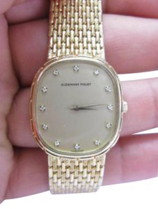 Audemars Piguet 18Kt Audemars Piguet Diamond Dial Yellow Gold Watch