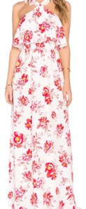 Fuchsia Bloom Maxi Dress by Tularosa