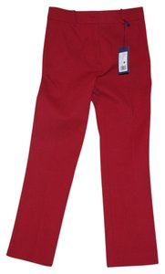 Jil Sander Capri/Cropped Pants red