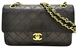 Chanel Quilted Flap Chain Cc Logo Classic Shoulder Bag