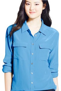 Vince Camuto Button Down Shirt island ocean