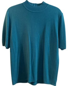 Koret Sweater Short Sleeve Top Teal