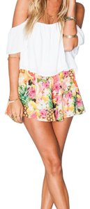 Show Me Your Mumu Mini/Short Shorts Orange, Pink, Yellow, Green, Tan, Black, Purple
