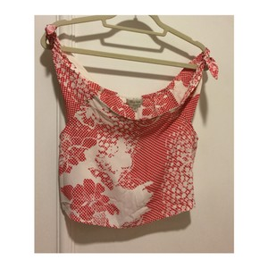 Flynn Skye Top Red and White