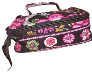 Vera Bradley Floral cosmetic or jewelry carrier