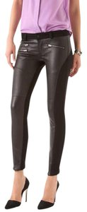 Siwy Leather Real Leather Stretch Sexy Skinny Jeans-Coated