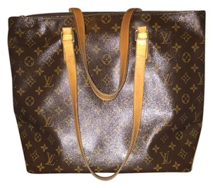 Louis Vuitton Monogram Tote in browns