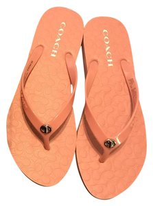 Coach Abbigail Pink Sandals