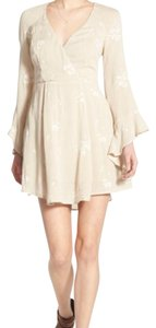 Free People short dress almond (cream) on Tradesy