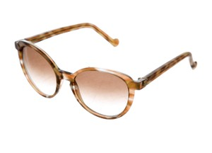 Louis Vuitton Honey tortoiseshell Louis Vuitton 2017 Ava round sunglasses