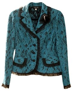 Teri Jon blue-green Jacket