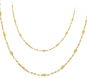 Top Gold & Diamond Jewelry 14K Yellow Gold Necklace - 17+1
