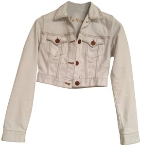 Marciano Ice White Womens Jean Jacket