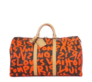 Louis Vuitton Cabin Luggage Duffle Carry On Limited Edition Brown Travel Bag