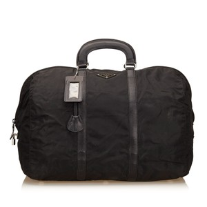 Prada 7bprdb007 Black Travel Bag