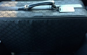 Gucci Luggage Suitcase Travel Suitcase black Travel Bag